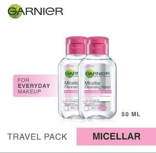 Micellar Water Pink 50ml (Travel Kit)