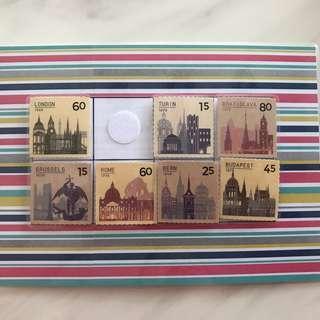 🚚 DIY Memory - Postage Stamps - Half