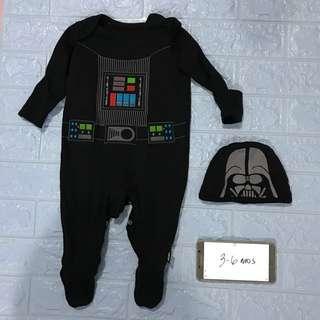 Star Wars Darth Vader baby costume