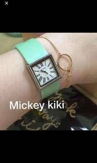 Chanel 經典方形復古可換錶帶 手錶 (9成新 正品)