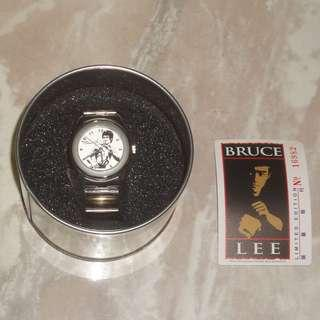 Bruce Lee 李小龍 Estate Official Limited Edition Watch White Version Hong Kong Universal Working Condition