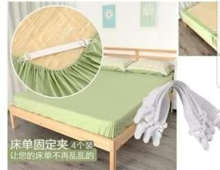 Bed sheet holder grippers