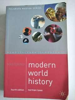 🚚 Modern World History (4th Edition) by Normal Lowe (Palgrave Master Series)