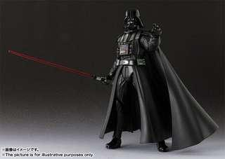 BANDAI S.H.Figuarts SHF 星際大戰 Star Wars 黑武士 達斯維達 Darth Vader 附初回特典場景