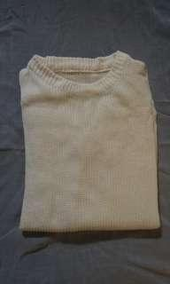 Sweater Putih Tulang Murah