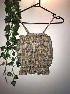 Cute frilly crop top