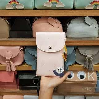 Miniso Sling Bag / Panda Pink / We Bare Bears
