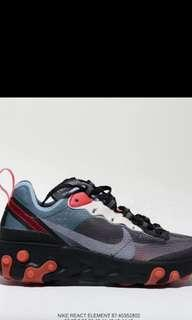 🚚 brand new in box nike react element 87 sport shoe
