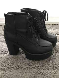 Heeled Boots from Korea