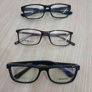 Frame kacamata + lensa