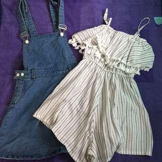 Bundle 9 Romper&Jumper Skirt