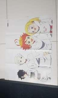 Promise of the neverland anime poster