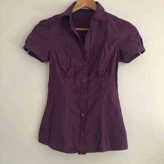 Zara buttoned top