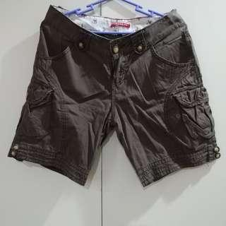 Union Bay Brown Cargo Shorts