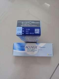 (NEW) 1 Day Acuvue True Eye Contact Lens