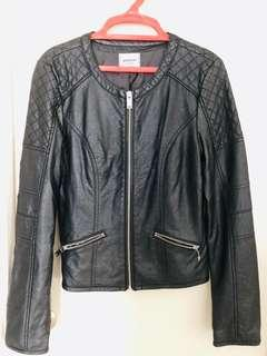 Leather Jacket #50TXT