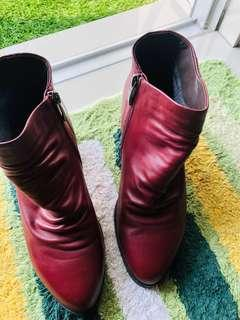 Original Leather Boots #50TXT