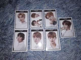 WANNA ONE Glossy Cards