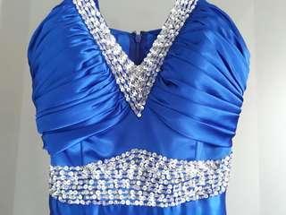 禮服,晚宴服,二手,寶藍色