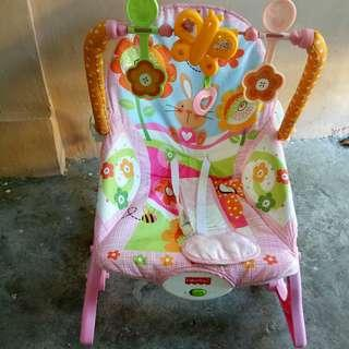 Baby rocker and baby bath