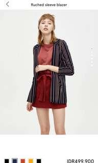 pull&bear blazer stripes