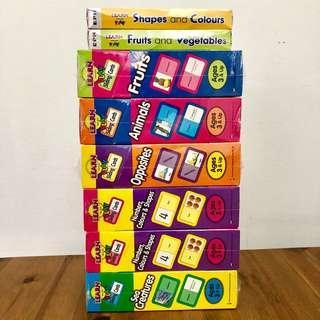 BNIP Set of 7 Learn & Play Flash Cards