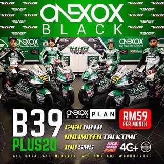 🚚 Postpaid Malaysia SIM card onexox celcom