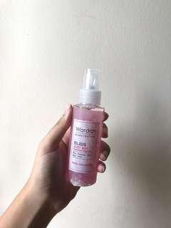 wardah scentsation bliss body mist