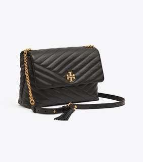 🚚 Authentic Tory Burch 53102 Kira Chevron Flap Shoulder Bag