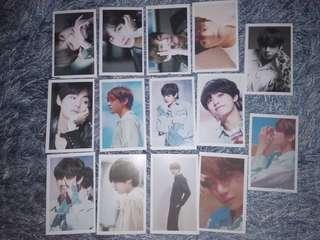 BTS V Lomo Cards