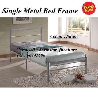 🚚 Single Metal Bed Frame