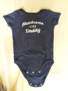 🚚 9 month baby boy onesie Carter