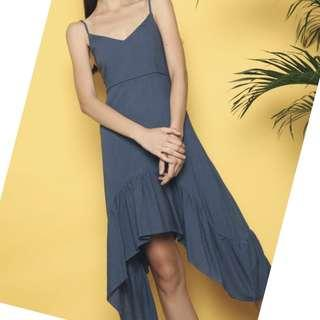 🚚 Hollyhoque Maxims Fishtail Dress - Blue