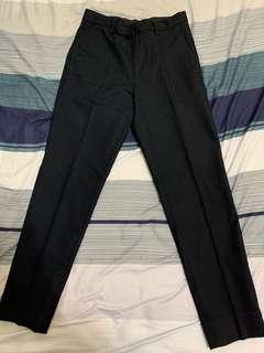 SPAO合身彈性黑褲
