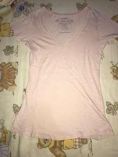 FREE Kaos Polos Cotton On Baby Pink Tumblr Tee Shirt