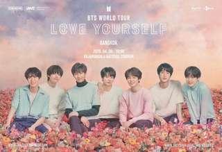 WTS Bts Love Yourself Bangkok Concert