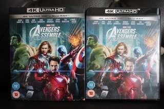 Avengers 4k Ultra HD Blu-ray