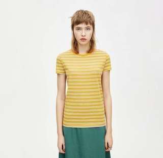 🚚 [INS] P&B yellow striped tee