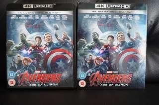 Avengers Age Of Ultron 4k Ultra HD Blu-ray