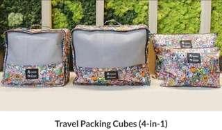 Tokidoki Travel Luggage Cubes (4 in 1)