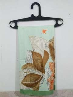jilbab segi empat motif