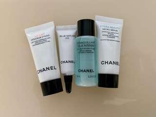Chanel samples