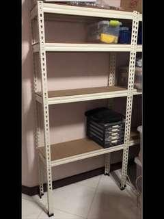 4 Tiers Boltless Rack Shelving for Sale