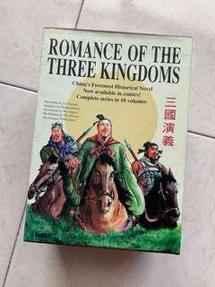 🚚 Romance of the Three Kingdoms (English Comic)