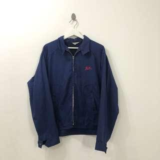 🚚 VINTAGE 80s US BAR WORK WINDBREAKER