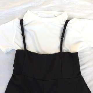 Black Jumpsuit (Inner included)