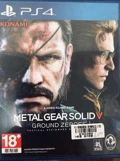 🚚 Metal Gear Solid V Ground Zeroes 潛龍諜影 V 原爆點