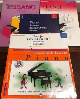Children's piano books level 1