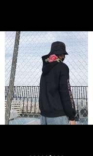 🚚 刺繡帽t(黑)
