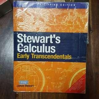 Stewarts Calculus Early Trancendentals